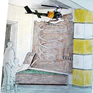 Bozza nuovo Monumento Creola di Saccolongo PD 2017