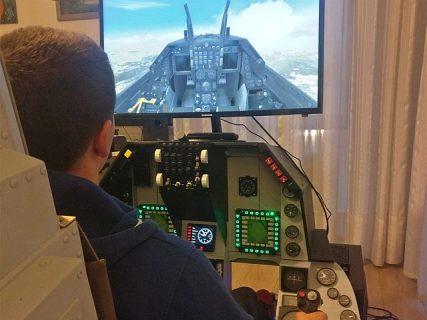 simulatore di volo AVSCM Padova