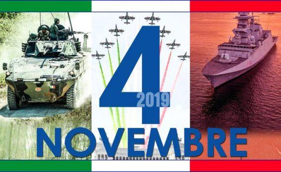 04 novembre Giorno dell'Unità Nazionale e Giornata delle Forze Armate 2019 Padova