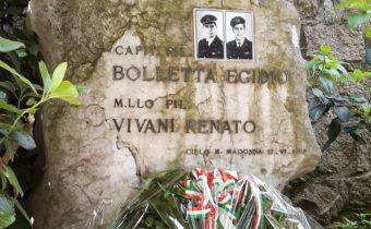 AAA Padova Monumento a due Piloti deceduti sul Monte MadonnaTeolo PD anno 2020